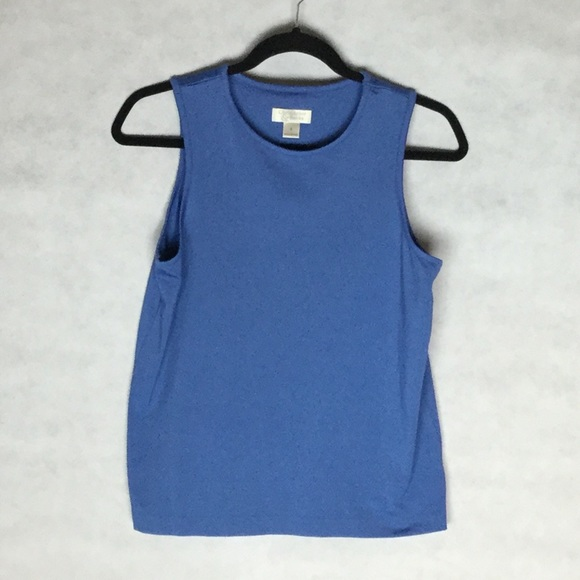 Christopher & Banks Tops - Christopher & Banks Blue Layering Tank